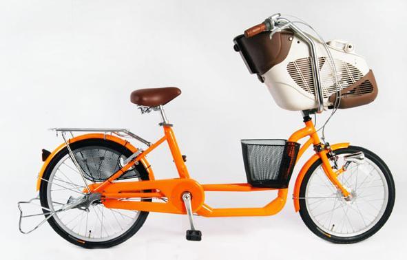 3人乗りかご付き自転車マリールゥ