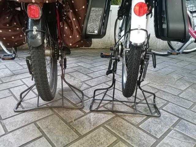 あさひ自転車ママフレの口コミ、タイヤが細め