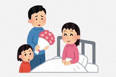 切迫早産で入院中の人をお見舞いする時のマナー・お土産に関して